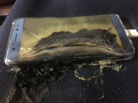 samsung galaxy note 7 fuocoA