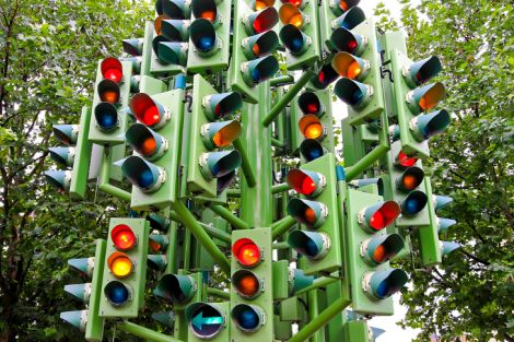 semafori intelligenti inquinamento