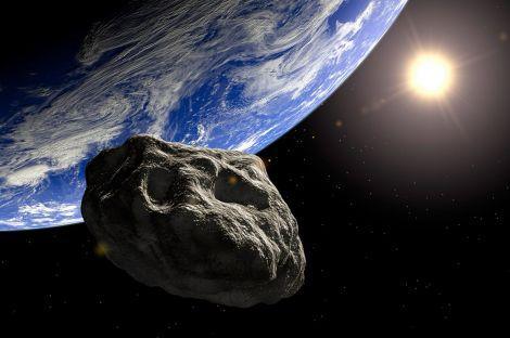 terra asteroide sfiora