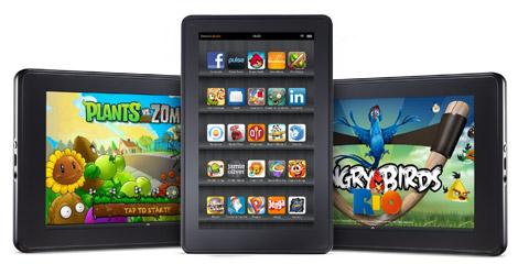 Amazon Kindle Fire tablet 7 pollici