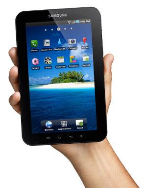 Samsung Galaxy TAB tablet Android Froyo 2.2