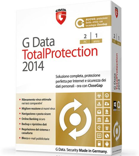 G Data TotalProtection 2014