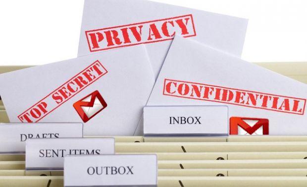 Gmail modalita riservata