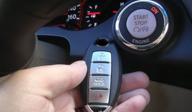 auto senza chiavi monossido