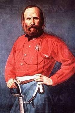 Giuseppe Garibaldi, generale, condottiero e patrio