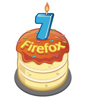 Firefox 8 compleanno