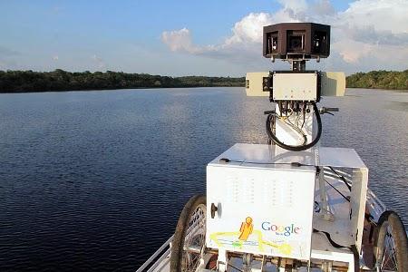 Google Street View Rio delle Amazzoni