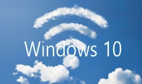 windows 10 wifi condivisione password
