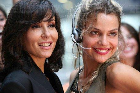 Sabrina Ferilli (a sinistra) con Micaela Ramazzott