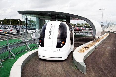 ULTra PRT Self Driving Pods UK 1