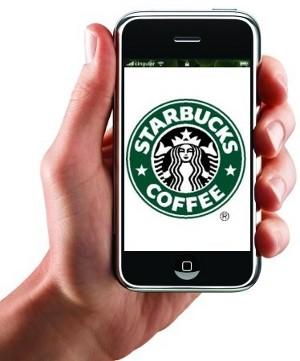 Starbucks iPhone screeshot