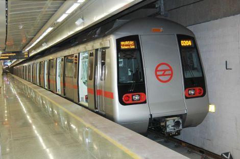 Delhi Metro eolico
