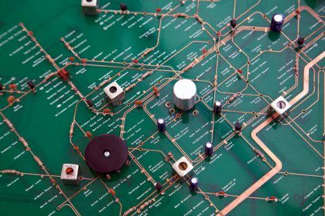 metropolitana londra radio mappa