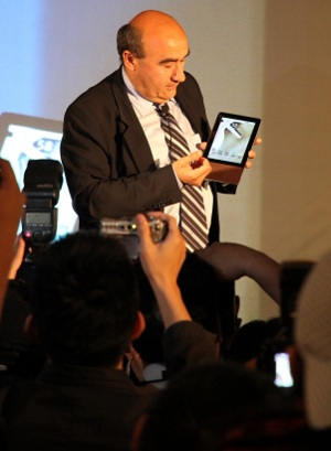Gianfranco Lanci tablet Acer