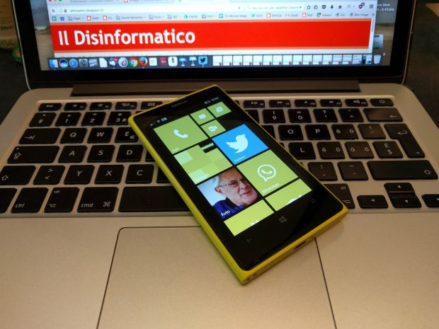 Addio, Windows Phone 8.1