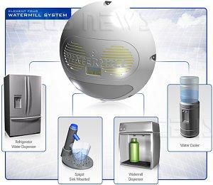 Element Four WaterMill estra acqua pura dall'aria