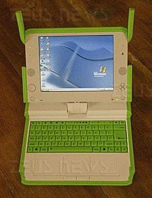 olpc xo manovella 100 dollari windows xp