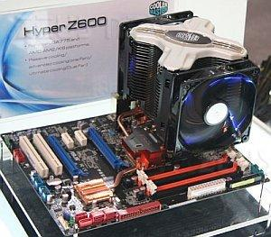 Coolermaster Hyper Z600, il dissipatore a X