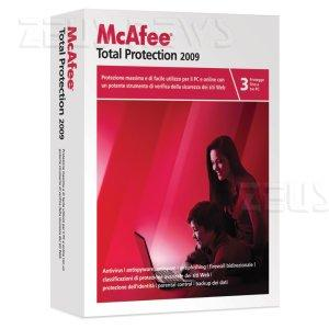McAfee Total Protection 2009 Antivirus
