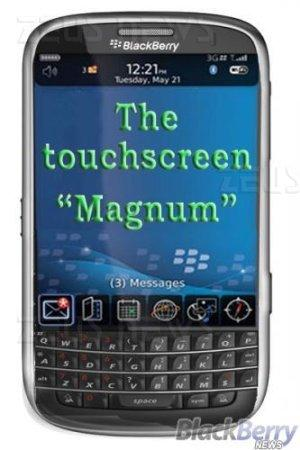 BlackBerry Magnum 9900 touchscreen tastiera qwert