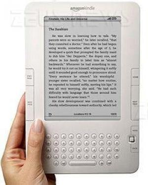 Amazon Kindle 2 e-book reader schermo e-paper