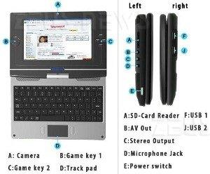 Skytone Alpha 680 netbook Android Cpu Arm 11