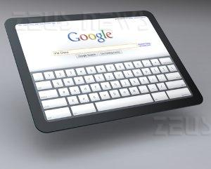 Google Tablet PC iPad Apple Chrome OS