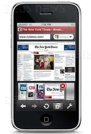 Opera Mini 5 Apple iPhone iTunes Store