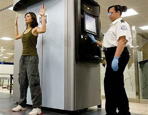 Body Scanner Jo Margetson Heathrow airport Baa