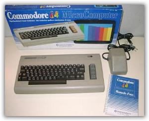 Commodore 64 Barry Altman marchio C=