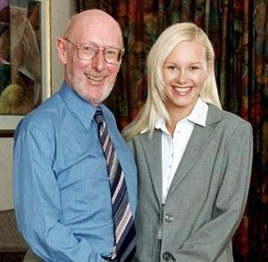 Sir Clive Sinclair sposa Angie Bowness