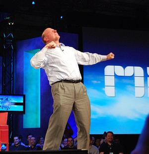 Steve Ballmer Jobs Pc iPad Microsoft quinta mobile