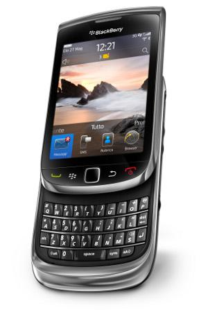 BlackBerry Torch 9800 OS 6.0 WebKit browser