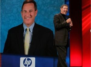 Mark Hurd Larry Ellison Ceo HP Oracle