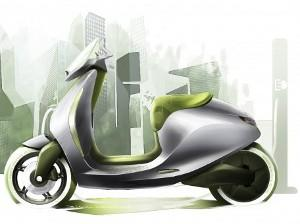 Smart scooter elettrico Mercedes Fortwo Electric