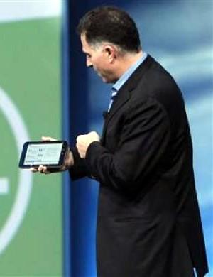 Michael Dell Streak 7 tablet OpenWorld Oracle