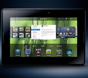 BlackBerry PlayBook tablet QNX