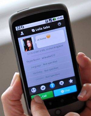 Skype per Android 2.1