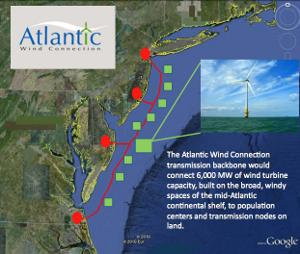 Google Atlantic Wind Connection energia eolica