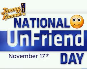 Jimmy Kimmel National Unfriend Day Facebook