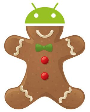 Android 2.3 gingerbread novembre Nexus One