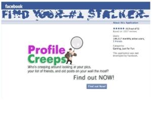 Websense profile creep facebook