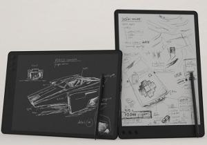 NoteSlate tablet disegno e-ink 13 pollici touch