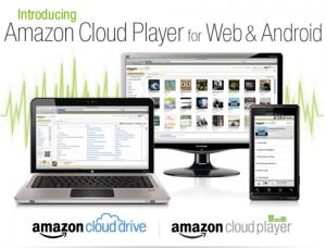 Amazon Cloud Drive Player Web Android musica strea