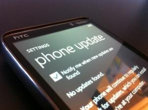 Windows Phone 7 Update NoDo Microsoft sconsiglia