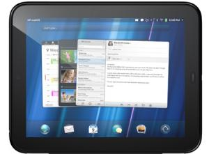 HP tablet TouchPad webOS video Flash