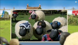 Chrome 12 Shaun The Sheep CSS 3D