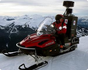 google street view snowmobile
