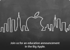 apple evento educazione new york
