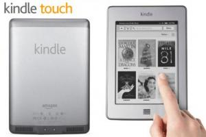kindle touch anticipo